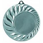 медаль MD10045b серебро, d 45 мм. вкл. 25 мм.