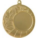 медаль MD14045a золото, d 45 мм. вкл. 25 мм.