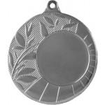 медаль MD14045b серебро, d 45 мм. вкл. 25 мм.