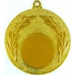 медаль MD163 a золото, d 50 мм. вкл. 25 мм.